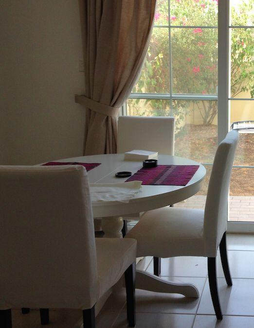 Extendable Round Oval Table IKEA Ingatorp White Wood Unused