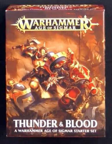 Age of Sigmar Thunder and Blood Starter Set Warhammer Fantasy Games Workshop