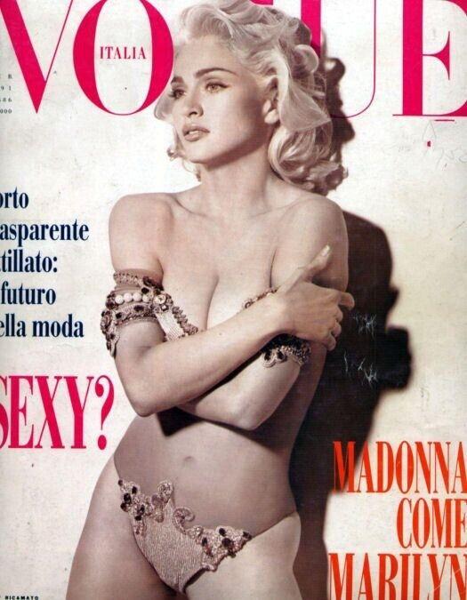 BEST OFFER: Rare Madonna Italian Vogue 1991 Erotica era. Mint.