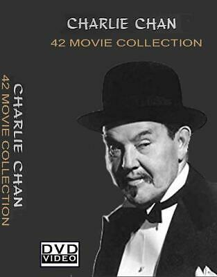 Charlie Chan Collection - 42 Movies + 60 Old Time Radio Shows + BONUS MOVIES DVD