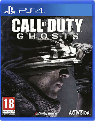 CALL OF DUTY GHOSTS PS4 CASTELLANO NUEVO PRECINTADO PS4