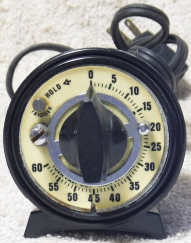 Rhodes Photo Timer With A Luminescent Glow In The Dark Dial Free Shipping