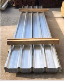 Roof sheets galvanised