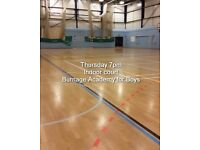 Wanted - five-a-side football players for established Thursday night game Burnage / Didsbury