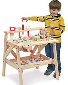 Melissa and doug wooden tool bench
