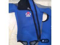 Men's semi dry scuba diving suit