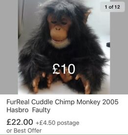 FurReal Chimp *Faulty*