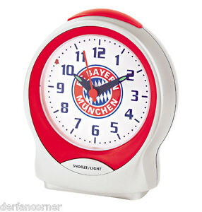 FC Bayern München Wecker Emblem   2017  NEU