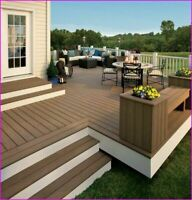 Fence and Deck with 5 years Guarantee, starting @ $16.sft