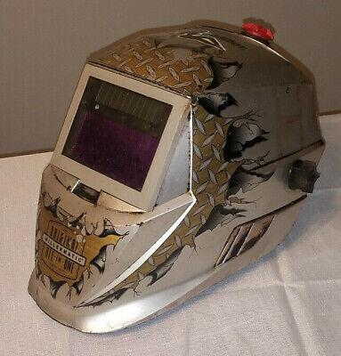 Miller Millermatic Pro Hobby Series Welding Mask Helmet 231-406 Well Used