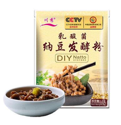 3G/bag Bacillus Subtilis Bacillus Natto DIY Natto Powder Fermentation Powder