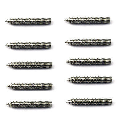 """WOOD 1"""" SCREWS SADDLE XS0049S-NP ADAPTER SCREWS FOR CONCHO LOT (10/pack) NEW"""