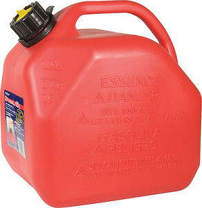 10 litre gas can, used twice