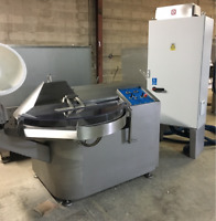 List of used / new machines, fish ,meat, cheese. May 2018