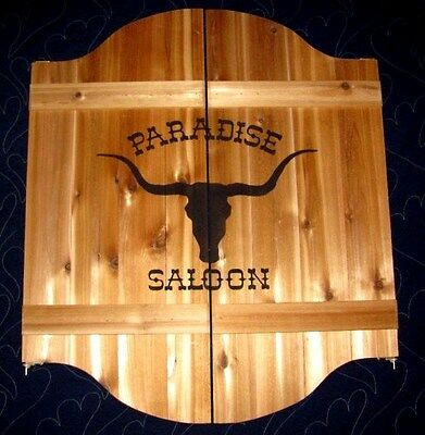 Wild West Ranch Saloon Cafe Swinging Doors w/ Your Name Western Decor