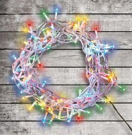 120 Multicoloured LED Lights