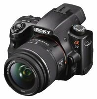 Sony Alpha A37 + 3 Lenses (18-55mm) (50mm) (75-300mm)