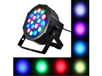 New LED RGB 18W Par Can Light DMX Control Sound-Active Auto-Play Event DJ Disco Party Stage