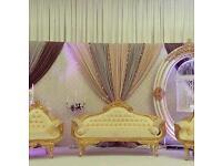 2 Wedding Love Side Sofa for sale (Brand New) £300each..Both £550