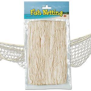 Decorative fishing net balloon net party decoration fish for Fish netting decor