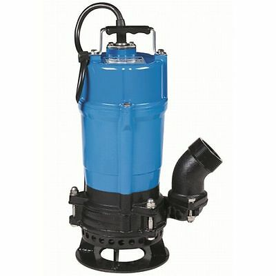 Tsurumi Submersible Trash Water Pump 2-inch Discharge Wshaft Mounted Agitator