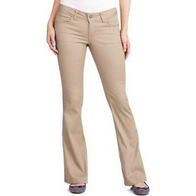 Dickies Junior Girls School Uniform 5 Pocket Slim Boot Leg Pants Size 17 5-pocket-slim Boot