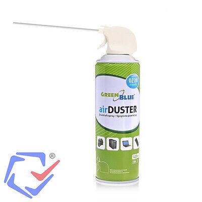 Air Duster Reinigung Druckluft Spray 400ml Druckluftspray Druckluftreiniger