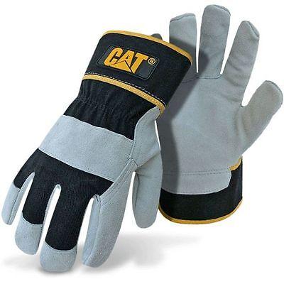 Caterpillar Cat Split Leather Work Gloves Large ()