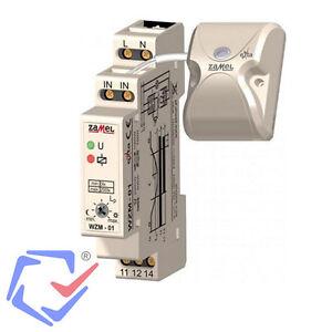 Dämmerungsschalter WZM-01/SOS-01 Zamel Dämmerungssensor DIN Verteilereinbau