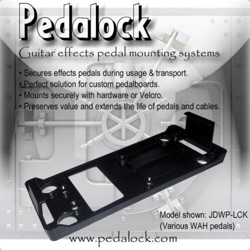 Pedalock - WAH Pedal Mounting Bracket -  Dunlop / VOX    Model: JDWP-LCK