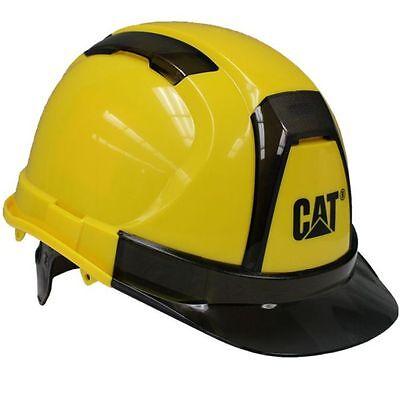Caterpillar Cat Hard Hat Yellow Ratchet Suspension 23408