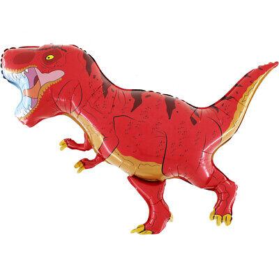 Dino Saurier T-Rex Luftballons xxl Folienballon Geburtstag Helium Party