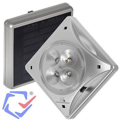 Lámpara LED para sombrilla Parasol Alimentación solar Montaje con imán Exterior