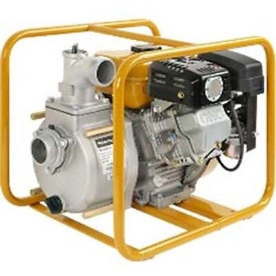 Commercial Trash Pump 2 Suction Discharge Port - 153 Gpm - 43 Psi - 4 12 Hp