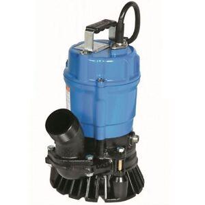 Tsurumi Submersible Trash Water Pump 2-inch Discharge 52 GPM 23306