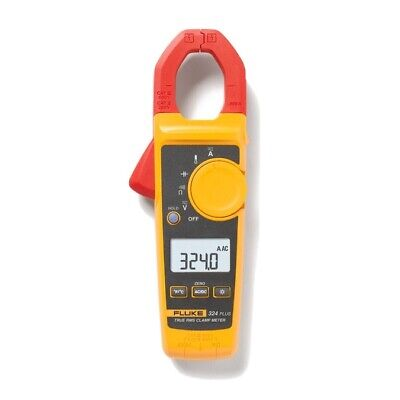 Fluke 324 Plus Professional True Rms Acdc Clamp Meter 772345 Temperature Volt