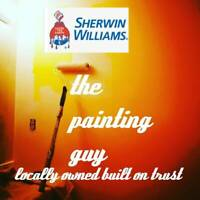 locally owned interior painting-small rush jobs welcomed