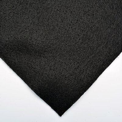 black felt for antique fans and lamp
