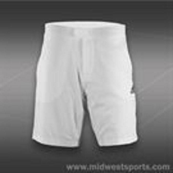 ADIDAS Men All Premium Shorts Size 2XL White/Grey - Retail $55