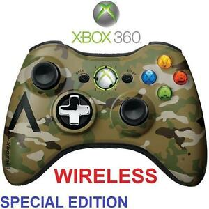 REFURB XBOX 360 WIRELESS CONTROLLER - 114216825 - VIDEO GAMES - CAMO - SPECIAL EDITION