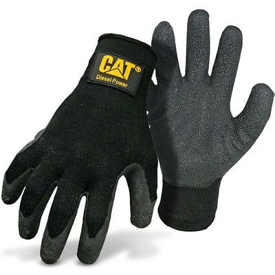 Cat Diesel Power Latex Palm Work Gloves X-large