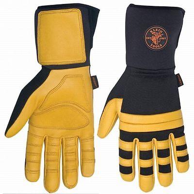 Klein Tool Lineman Work Gloves Medium ()
