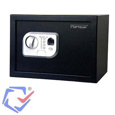 Tresor mit Fingerabdruckscan Opticum AX Eclipse Möbeltresor Elektronisch Safe +