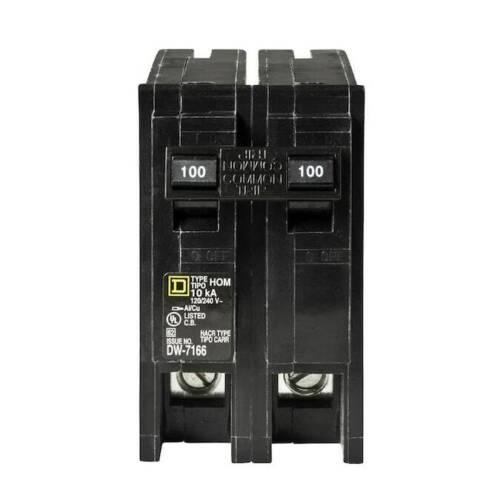 Square D 100-Amp Homeline Circuit Breaker
