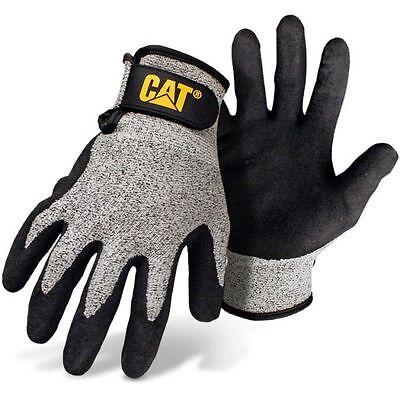 Cat Level 3 Cut Resistant Work Gloves Polyurethane Coated Large