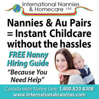 Qualified Au Pairs looking for Canadian Host Families!