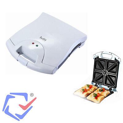 Sandwichtoaster Toaster Sandwich Maker Sandwichmaker XXL 4 Sandwiches 1400W +