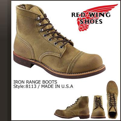 Red Wing 8113 Iron Ranger (Hawthorne Muleskinner Leather) (Hawthorne Muleskinner Leather)
