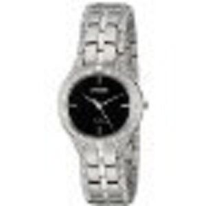 Citizen Watches Women's FE2060-53E Silhouette Crystal Silver Ton