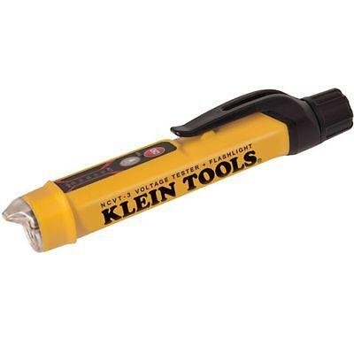Klein Tool Ncvt-3 Non-contact Voltage Tester With Flashlight